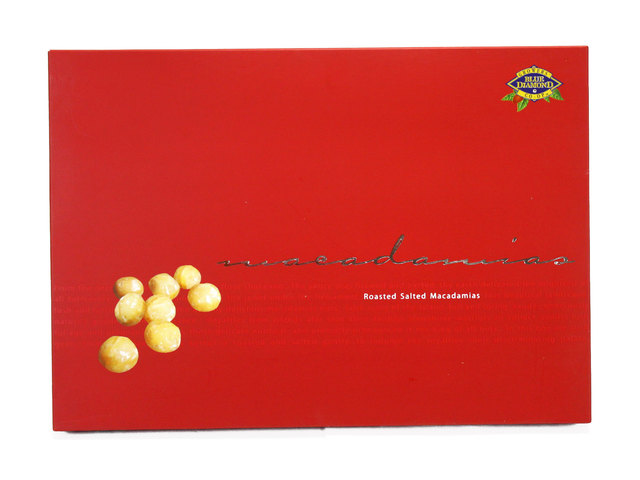 Gift Accessories - Blue Diamond Roasted Salted Macadamia Nuts - L40091 Photo