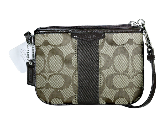 Gift Accessories - Coach Classic Wristlet- Brown - L36668700 Photo