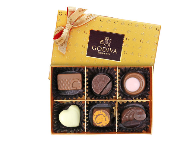 Gift Accessories - Godiva Gold Collection 6pcs - L3106602 Photo