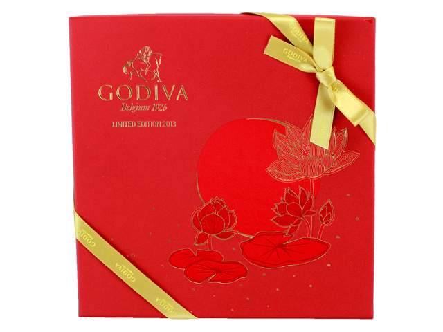 Gift Accessories - Godiva Mid-Autumn Festival Carre Gift Box 15pcs - L140007 Photo