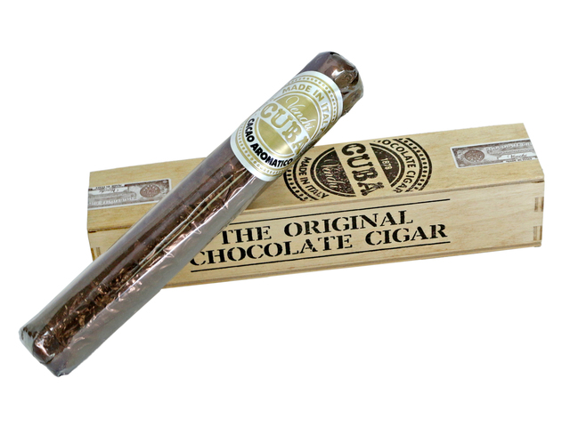 Gift Accessories - Italy, Venchi Chocolate Cigar Wooden Gift Box - L36668711 Photo