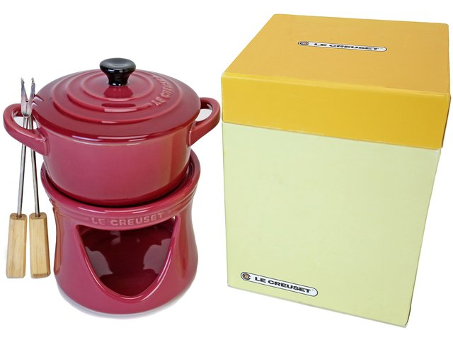 Gift Accessories - Le Creuset mini-cocotte fondue set - LY0129A6 Photo