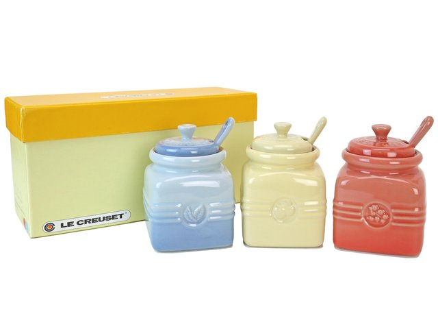 Gift Accessories - Le Creuset mini sauce jar with spoon - LY0129A3 Photo