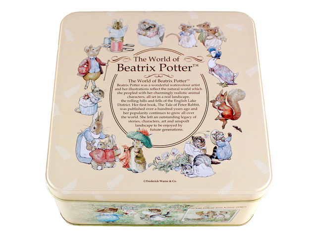 Gift Accessories - The World of Beatrix Potter Original Egg Rolls Box - L691880 Photo