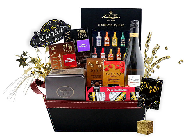 Happy New Year Gift - Happy new year gift hamper A5 - L76600557c Photo