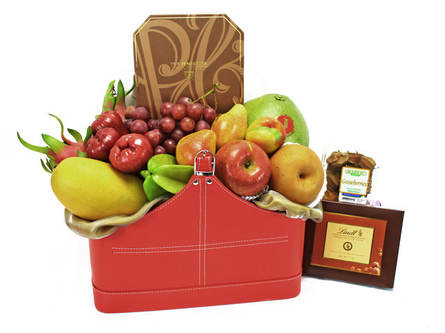 Mid-Autumn Gift Hamper - (2) ShopThurPost - Mid Autumn Mooncake Fruit Hamper - L40689 Photo