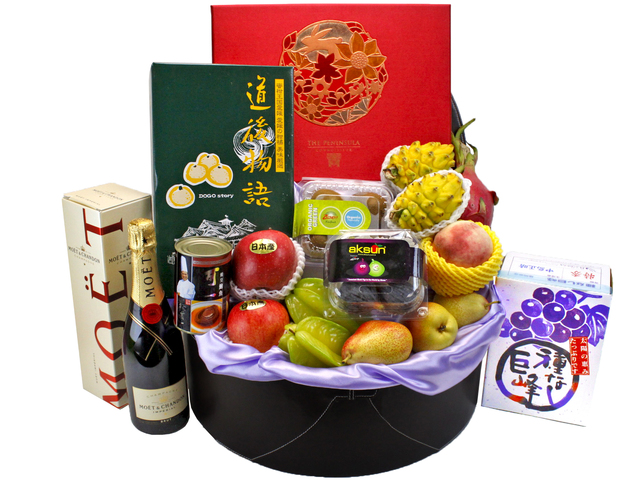 Mid-Autumn Gift Hamper - Deluxe Mid-Autumn Gift Hamper - Peninsula Mooncake Gift Box (1) - L90050 Photo