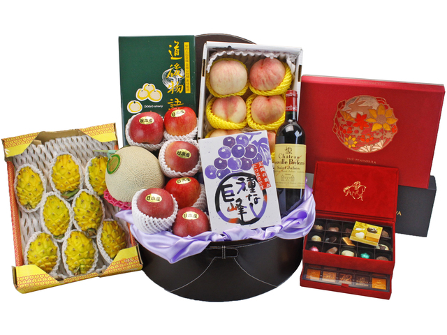 Mid-Autumn Gift Hamper - Deluxe Mid-Autumn Gift Hamper - Peninsula Mooncake Gift Box (3) - L90042 Photo