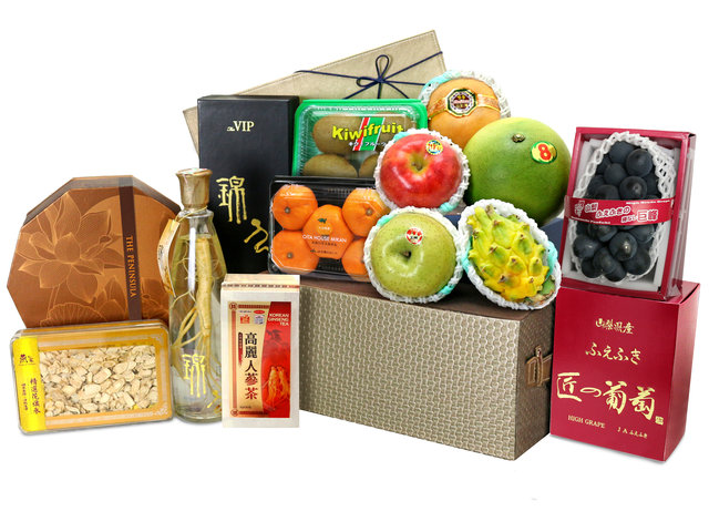 Mid-Autumn Gift Hamper - Ginseng Mid Autumn Fruit Hamper M72 - L76608239 Photo