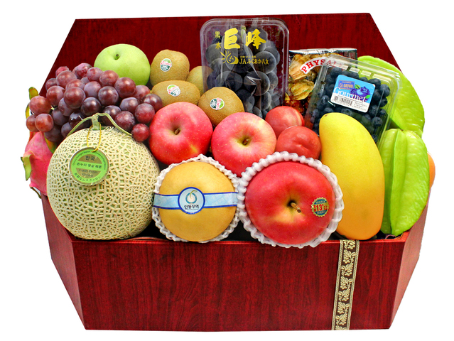 Mid-Autumn Gift Hamper - Mid Autumn Fruit Basket M45 - L194174 Photo
