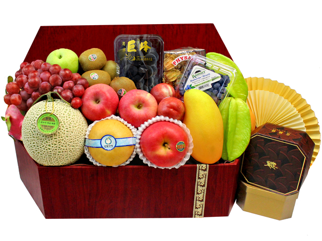 Mid-Autumn Gift Hamper - Mid Autumn Fruit Basket M47 - L3125000 Photo