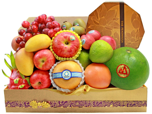 Mid-Autumn Gift Hamper - Mid Autumn Fruit Hamper M18 - L139545 Photo