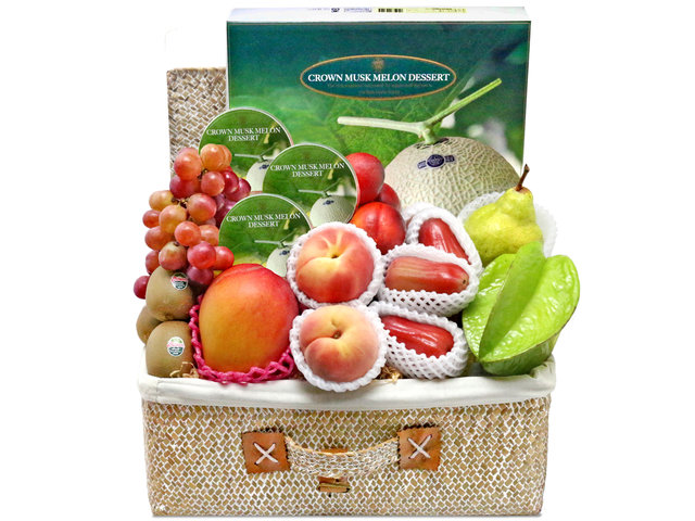 Mid-Autumn Gift Hamper - Mid Autumn Fruit Hamper P26 - L76601340 Photo