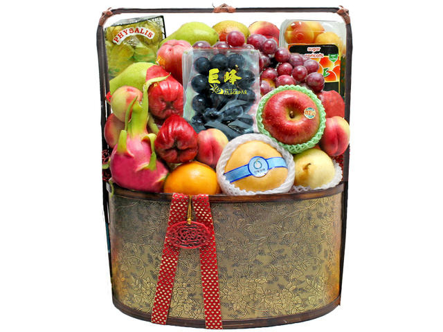 Mid-Autumn Gift Hamper - Mid Autumn Fruit basket P29 - L36511788m Photo