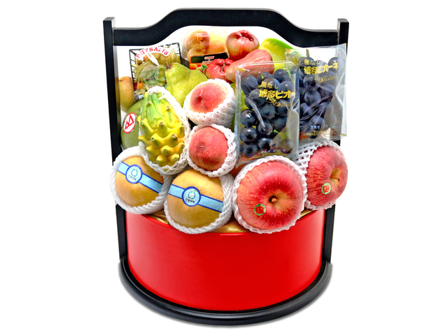 Mid-Autumn Gift Hamper - Mid autumn fruit basket P37 - L76601140 Photo