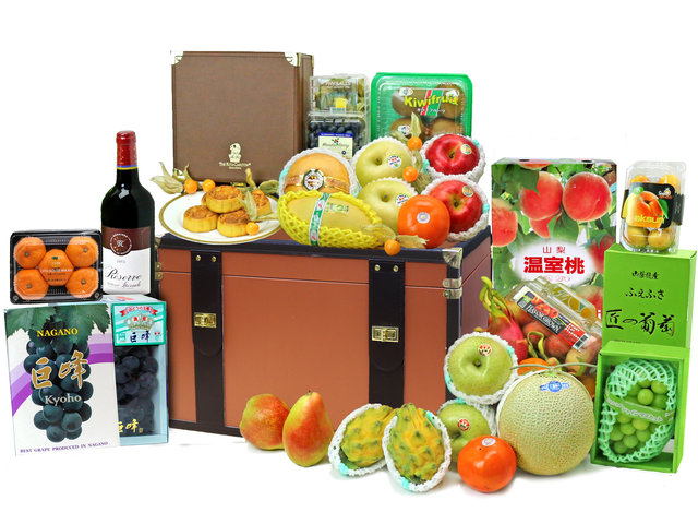 Mid-Autumn Gift Hamper - Ritz Carlton Mid Autumn Fruit Hamper M61 - L76607860 Photo