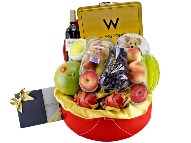 Mid-Autumn Gift Hamper - W Hotel Mid-Autumn Gift Basket W6 - L89100 Photo