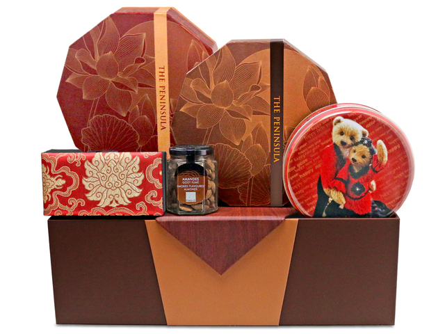 Mid-Autumn Gift Hamper - mid autumn mailable moon cake hamper A14 - L76601716 Photo