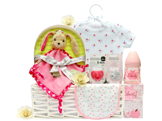New Born Baby Gift - Baby Clothes Gift Basket z11 - L36667890 Photo