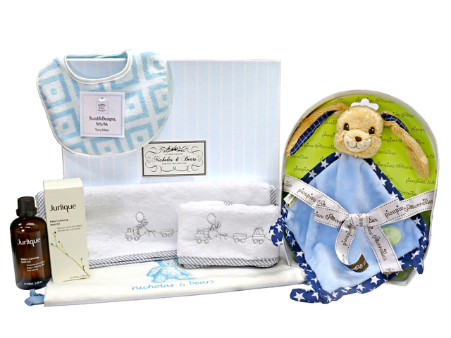 New Born Baby Gift - Baby Gift Basket z10 - L36668113 Photo
