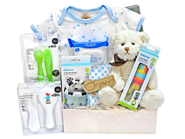 New Born Baby Gift - Baby Gift Basket z13 - L36668679 Photo