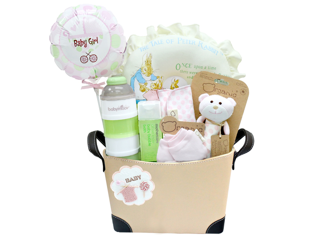 New Born Baby Gift - Baby Gift Basket z9 - L36668717 Photo