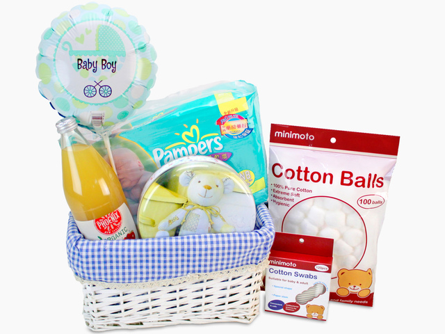 New Born Baby Gift - Baby Hamper K12 - L69114 Photo