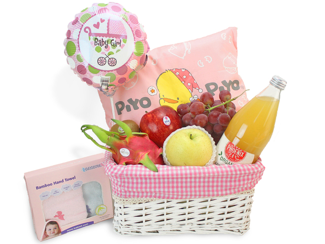 New Born Baby Gift - Baby Hamper K1 - L69128 Photo