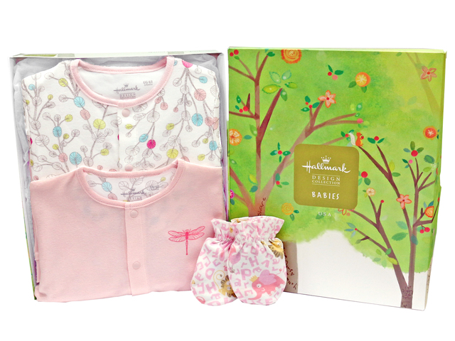 New Born Baby Gift - Hallmark baby clothes gift set - L3666869 Photo