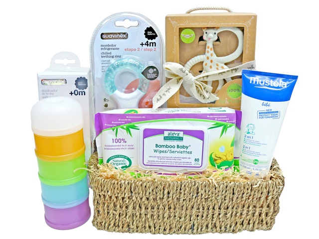 New Born Baby Gift - Imported baby gift hamper - L36669124 Photo