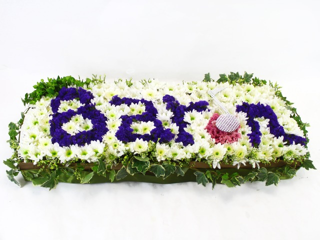 Order Flowers in Box - Customized Letter Mini-Garden - L20306 Photo