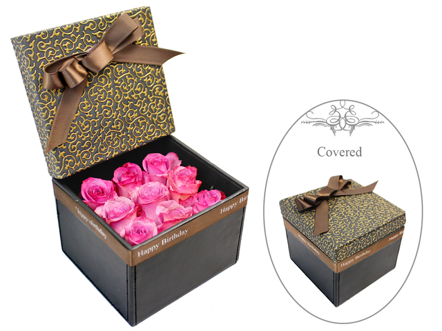 Order Flowers in Box - Little Boxful of Thoughts 2 - L178612 Photo