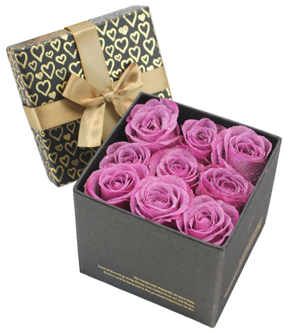 Order Flowers in Box - Little Boxful of Thoughts - P9053 Photo