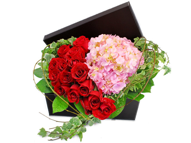 Order Flowers in Box - Only Love (Mix Colour) - L102741 Photo