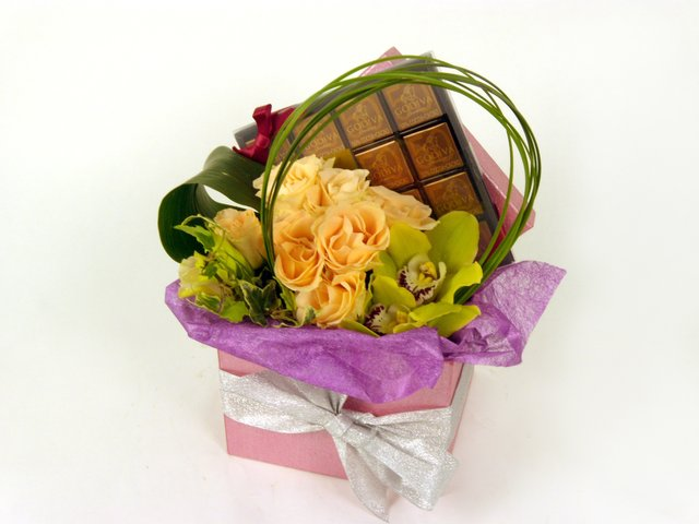 Order Flowers in Box - Serendipity - P9862 Photo