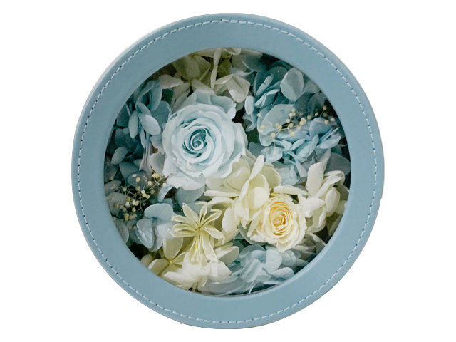 "Preserved Forever Flower - ""Blue Dream"" Preserved Flower Gift M11 - PX0120A5 Photo"