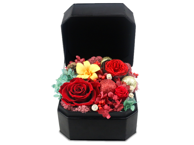 Preserved Forever Flower - Christmas Preserved Flower Box M3 - L36515431 Photo