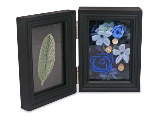 Preserved Forever Flower - Dual-use photo frame with preserved flower M59 - L45000103 Photo