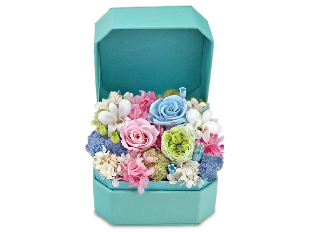 Preserved Forever Flower - Sparkling & Everlasting Preserved Flower Box M8 - L36515297 Photo
