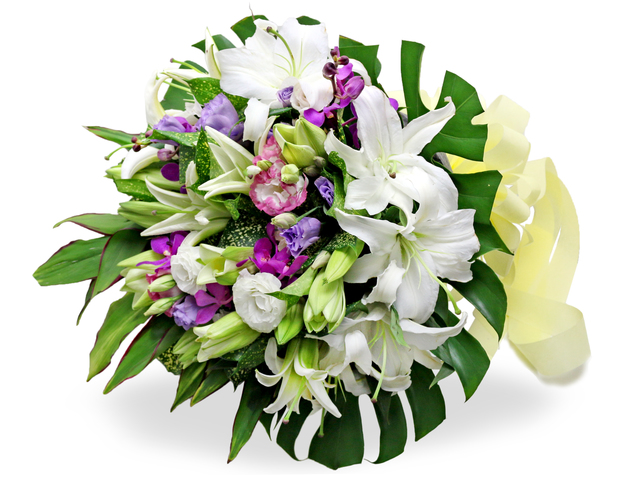 Second Version - Florist gift bouquet BG16 - L76602595 Photo