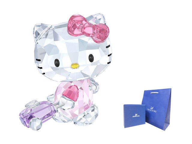 Swarovski Crystal  - Swarovski-Crystal HELLO KITTY TRAVELLER - CN0518C8 Photo