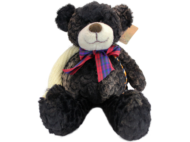 Teddy Bear n Doll - Color Rich Dark Bear - L116291 Photo