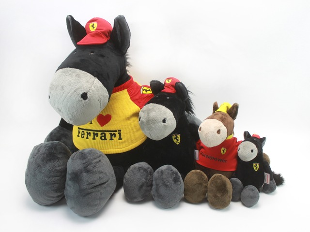 Teddy Bear n Doll - Ferrari Horsie Doll - L24244 Photo