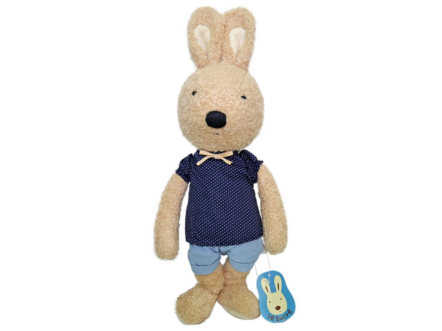 Teddy Bear n Doll - Le Sucre Rabbit - L1151 Photo