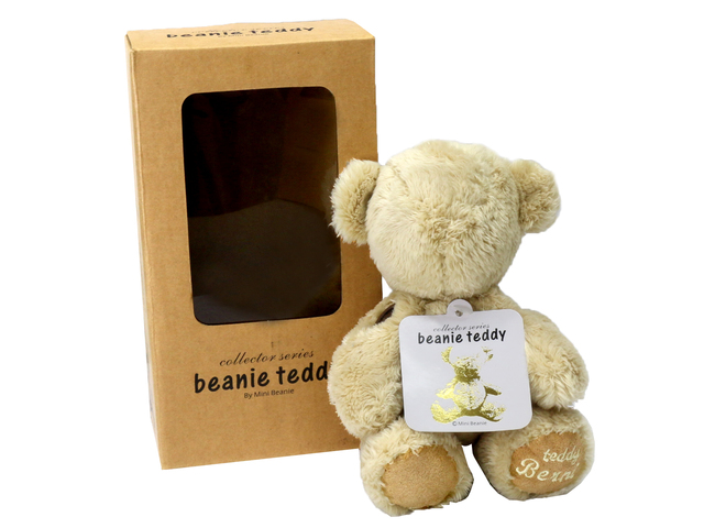 Teddy Bear n Doll - Minibeanie Teddy Bear (Beige/Grey) - L36667703 Photo