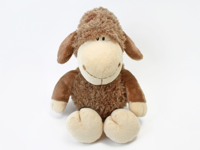 Teddy Bear n Doll - Nici Brown Sheep - L24211 Photo