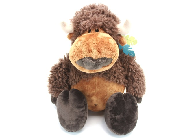 Teddy Bear n Doll - Nici Buffalo - L24276 Photo