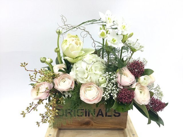 Weekly Import Flower - Limited edition - Amaryllis Floral Decorations LE14 - 1BB0313B4 Photo
