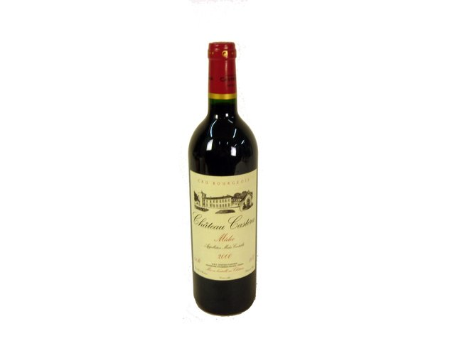 Wine Champagne Liquers - Chateau Castera 2000 - P7739 Photo