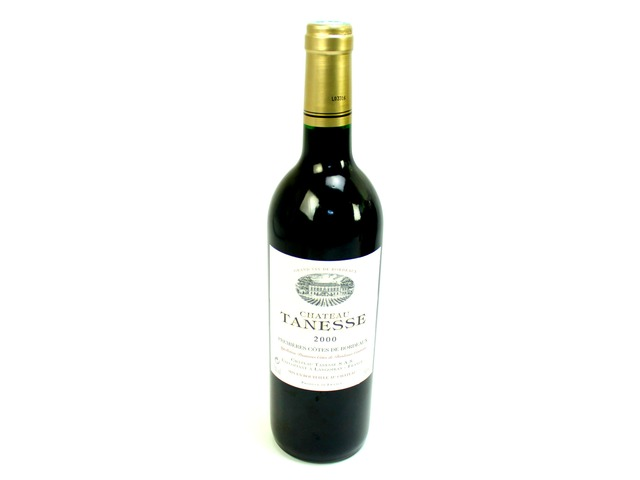Wine Champagne Liquers - Grand Vin de Bordeaux 2000 Chateau Tanesse - L06809 Photo